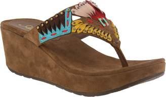 Spring Step Azura by Suede Slide Sandals - Headress