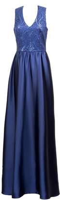 Anna Etter - Navy Blue Maxi Dress Faith with Open Back