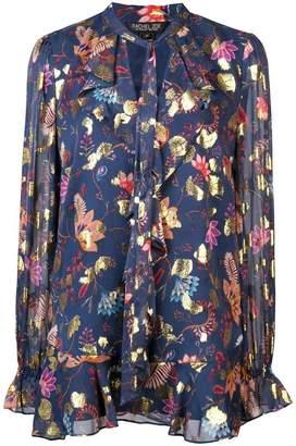 Rachel Zoe floral print blouse