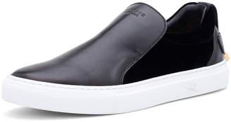 Buscemi Men's 40 mm Quincy Leather & Velvet Slip-On Sneakers