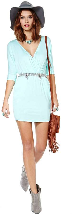 Nasty Gal Mint To Be Dress
