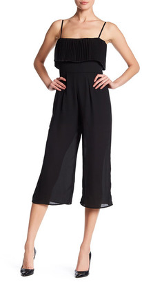 Want & Need Pleated Gaucho Jumpsuit $69 thestylecure.com
