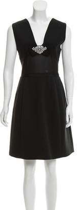 Ted Baker Embellished Paneled Dress w/ Tags