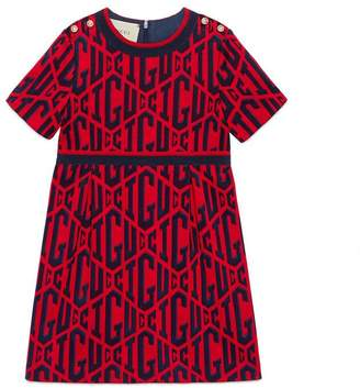 Gucci Children's game cotton dress
