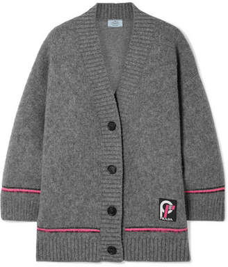 Prada Wool Cardigan - Gray