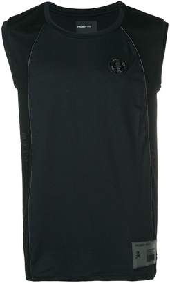 Philipp Plein sleeveless fitted T-shirt