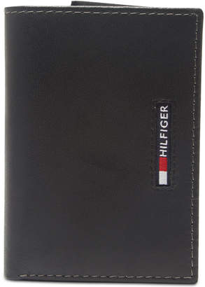 9220c03667 Tommy Hilfiger Men Extra-Capacity Rfid Leather Tri-Fold Wallet