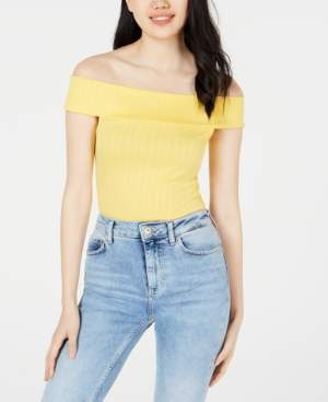 Polly & Esther Juniors' Off-The-Shoulder Bodysuit