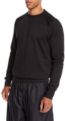 Y-3 Men's Logo-Back Terry Sweater