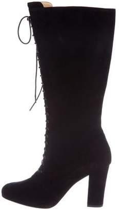 Eugenia Kim Suede Mid-Calf Boots