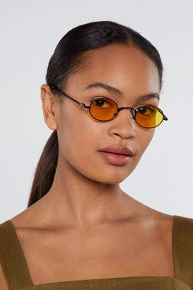 Nasty Gal See Ahead Round 2-pc Sunglasses Set