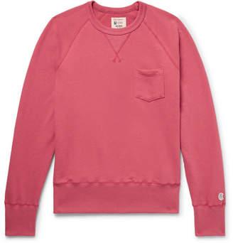 Todd Snyder + Champion Slim-Fit Loopback Cotton-Jersey Sweatshirt