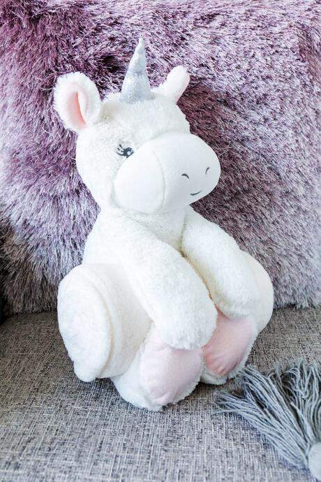 Baby Needs, Inc. Unicorn Plush and Blanket Set