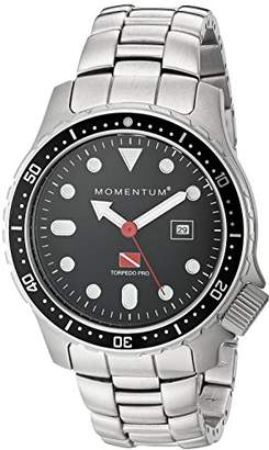 Momentum Men's 'Torpedo Pro' Quartz Stainless Steel Sport Watch