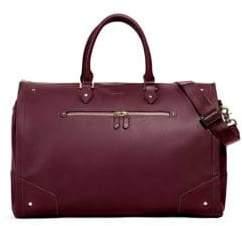 hook + ALBERT Garment Weekender Leather Carry-On