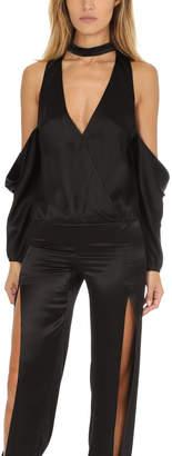 Warehouse Michelle Mason Drop Shoulder Blouse