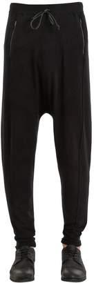 Isabel Benenato Stretch Viscose Jersey Sweatpants