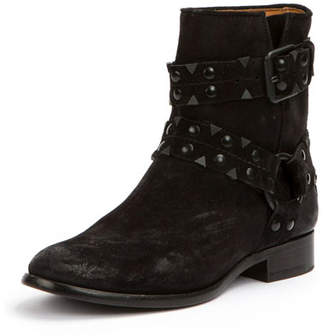 Frye Carly Studded Suede Short Boot