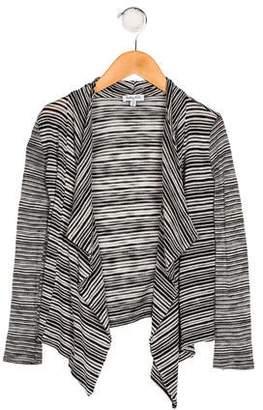 Splendid Girls' Stripe Knit Cardigan