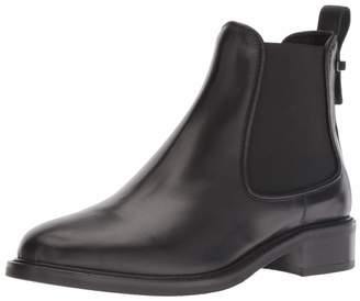 Aquatalia Women's Belle Calf/Elastic Chelsea Boot