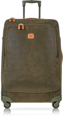 Bric's Life Olive Green Micro Suede Large Trolley