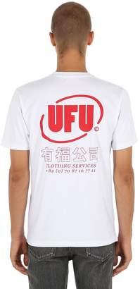 Oval Logo Cotton Jersey T-Shirt