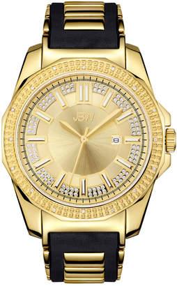 JBW Men's Regal Diamond & Crystal Watch