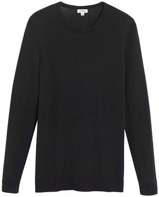 Classic Cotton Cashmere Crewneck Sweater