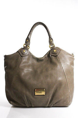 Marc By Marc JacobsMarc By Marc Jacobs Brown Leather Gold Hardware Double Handle Adjustable Strap S
