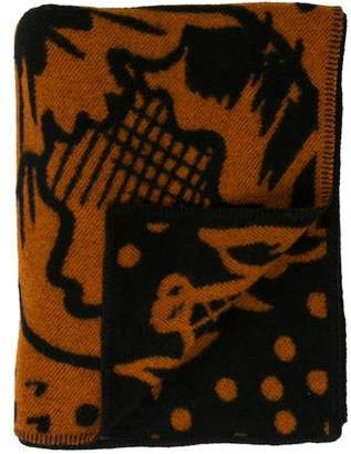 Burberry Wool Throw Blanket