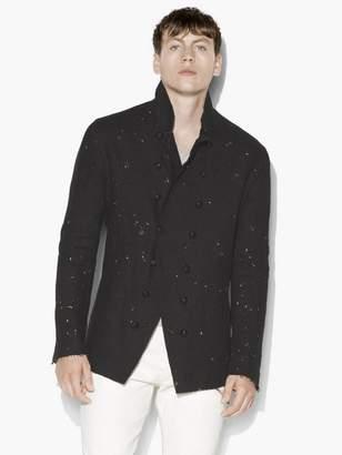 John Varvatos Paint Splatter Jacket