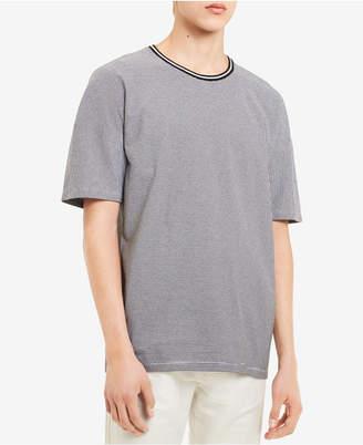 Calvin Klein Men's Feeder-Stripe Jersey-Knit T-Shirt