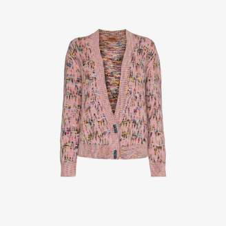 Missoni Knitted mohair wool cardigan