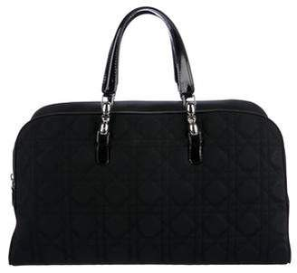 Christian Dior Cannage Nylon Handle Bag