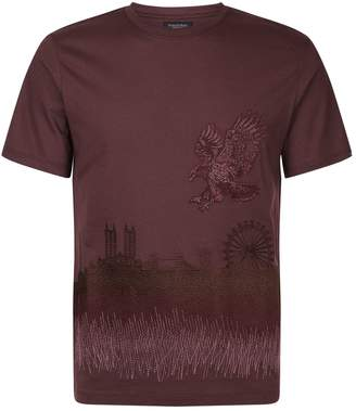 Stefano Ricci London Skyline T-Shirt
