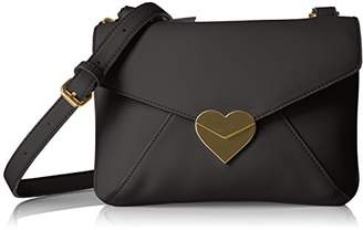 Dear Drew by Drew Barrymore uptowner Everyday Heart Clasp Crossbody Bag-