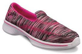 Skechers GOwalk 4 Girls' Slip-On Shoes $49.99 thestylecure.com