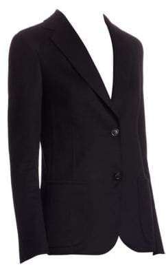 Akris Saigon Cashmere Wool Double Face Jacket