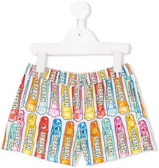 MC2 Saint Barth Kids printed swim shorts