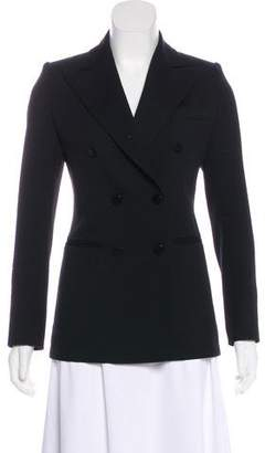 Louis Vuitton Wool Peak-Lapel Blazer