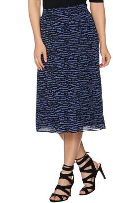 Linea By Louis Dell'olio by Louis Dell'Olio Pull-On Printed Skort
