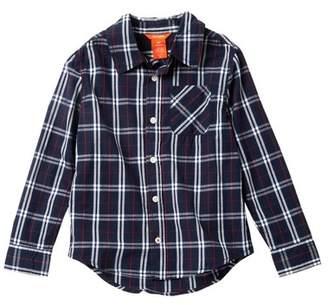Joe Fresh Long Sleeve Button-Down Shirt (Big Boys)