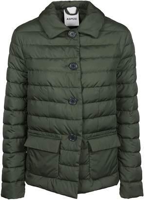 Aspesi Buttoned Padded Jacket