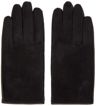 SASQUATCHfabrix. Black Leather Gloves