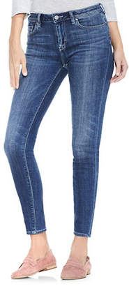 Vince Camuto Whiskered Skinny Jeans