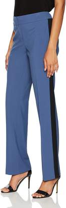 Nine West Women's Bi Stretch Pant with Contrast Side Panel