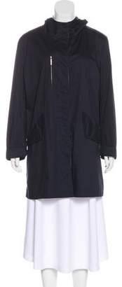 Giorgio Armani Hooded Short Coat