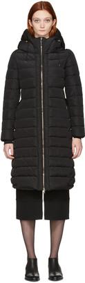 Moncler Black Down Imin Coat $1,450 thestylecure.com