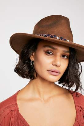 Ale By Alessandra 'Ale By Alessandra Timber Distressed Felt Hat
