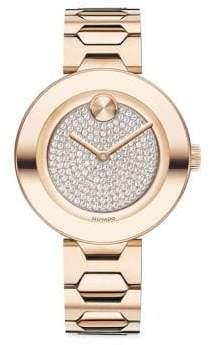Movado Bold T-Bar Stainless Steel Bracelet Watch
